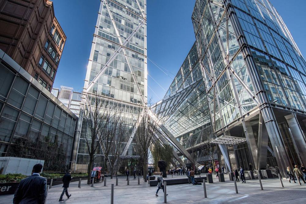 London Broadgate Tower - Primrose Street, EC - Liverpool Street