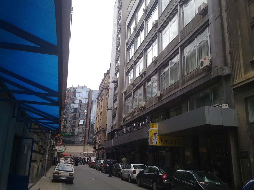 Marshala Centre - 3 -5 ul. Marsala Birjuzova, Belgrade