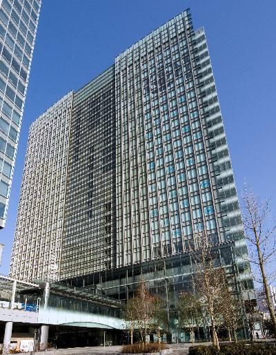 Shiodome Building - Kaigan - Minato-ku - Tokyo