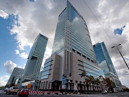 Warsaw Financial Centre - Ul. Emilii Plater, Warsaw