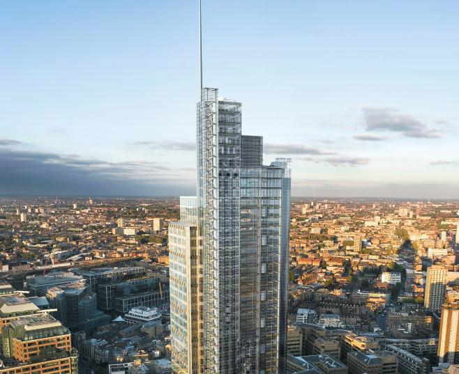 SalesForce Tower - 110 Bishopsgate, EC2 - Liverpool Street