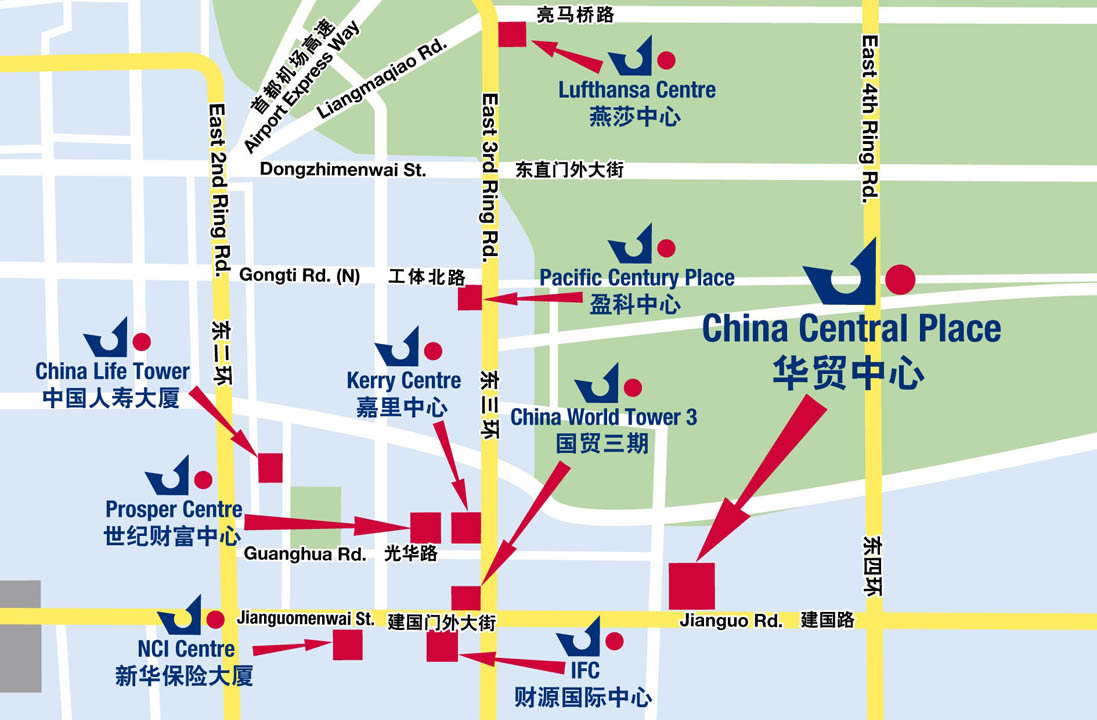 China Central Place - Jianguo Road - Chaoyang District - Beijing