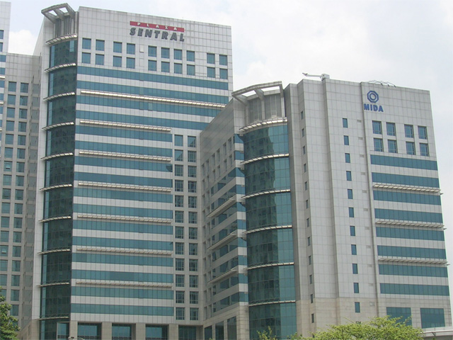 Jalan Stesen Sentral - Plaza Sentral - KL Sentral - Kuala Lumpur