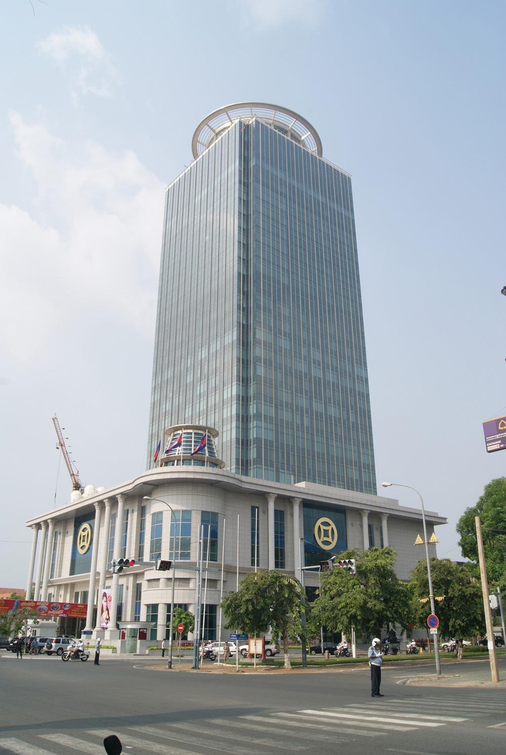 Canadia Bank Tower - 315 Ang Doung Street - Phnom Penh