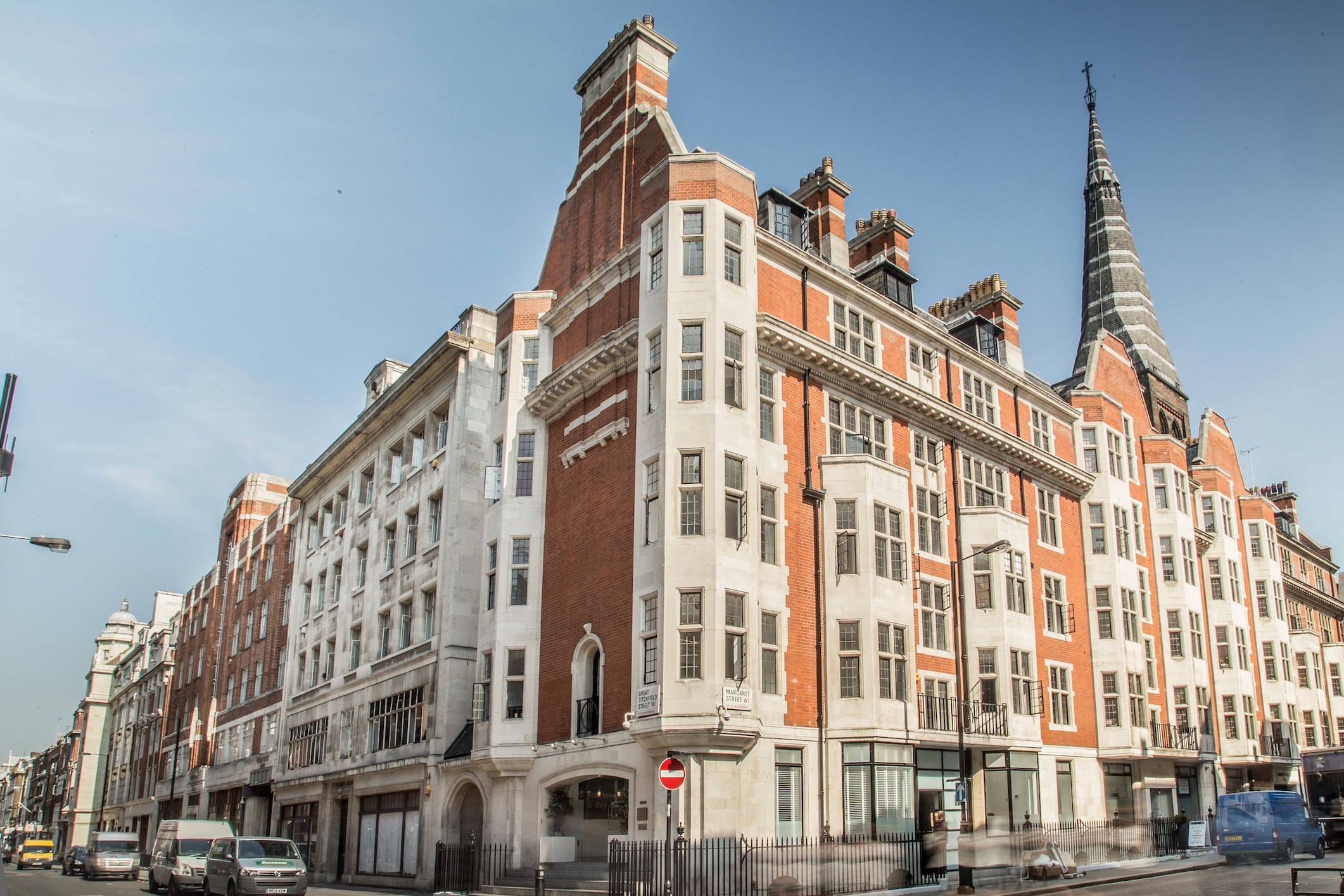 The Boutique Workplace Company - Audley House - 12 Margaret Street, W1 - Fitzrovia
