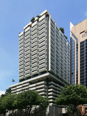 Orchard Road CBD - Shaw Centre - Scotts Road - Singapore