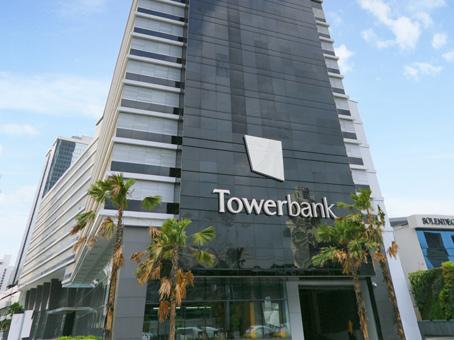 Panama City Financial District - Tower Financial Center - Mendez street - Panama City