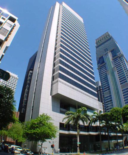 Shenton Way CBD Area - Cecil Street - Singapore