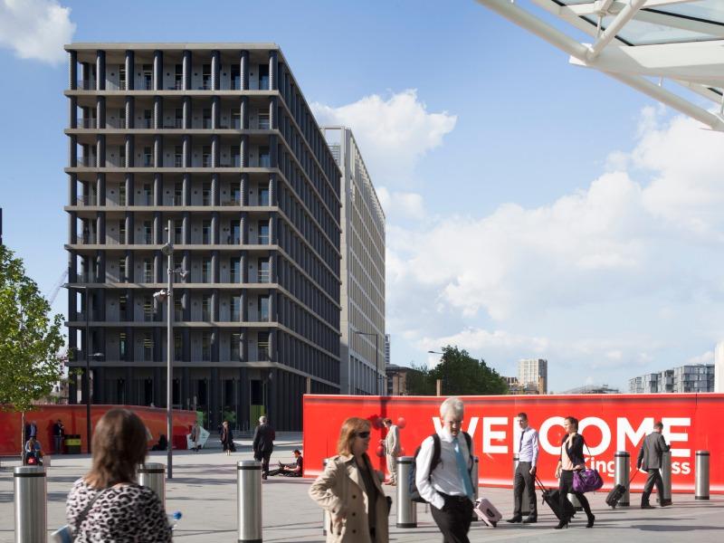 Gridiron Building - 1 St Pancras Square, N1 - Kings Cross