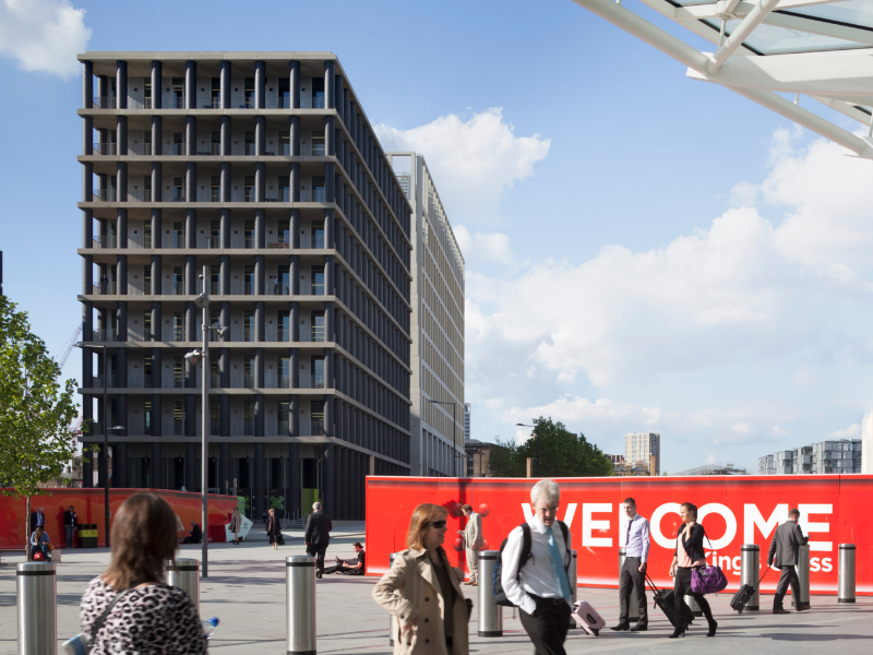 The Office (TOG) - Gridiron Building - 1 St Pancras Square, N1 - Kings Cross