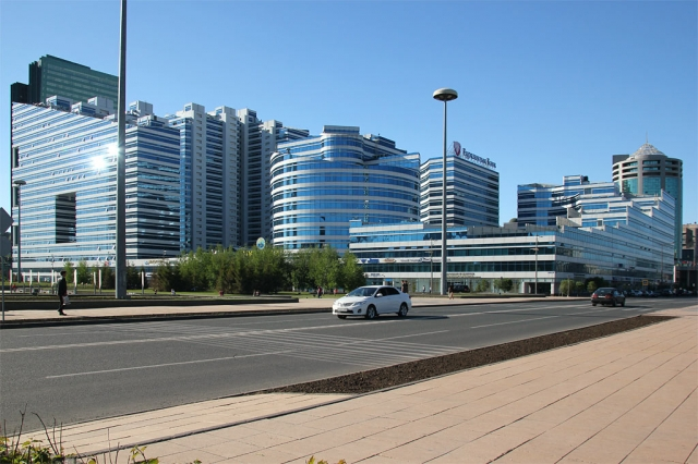Office Space in Business Center on Green Water Boulevard 12/1 Kunayev Street Yesil