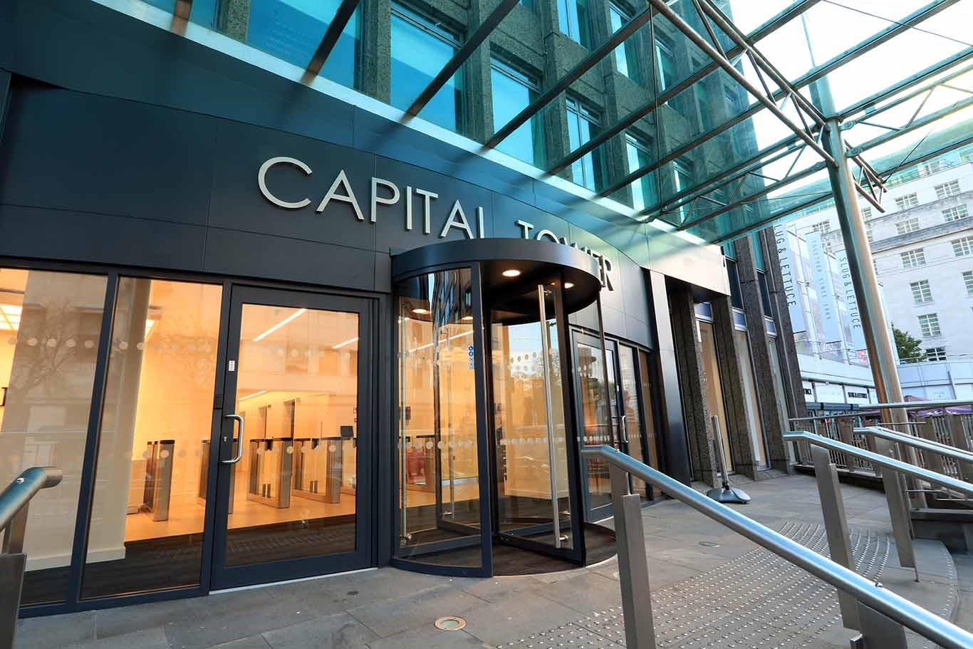 Chadwick Business Centres Limited - Capital Tower Cardiff - Greyfriars Road, CF10 - Cardiff