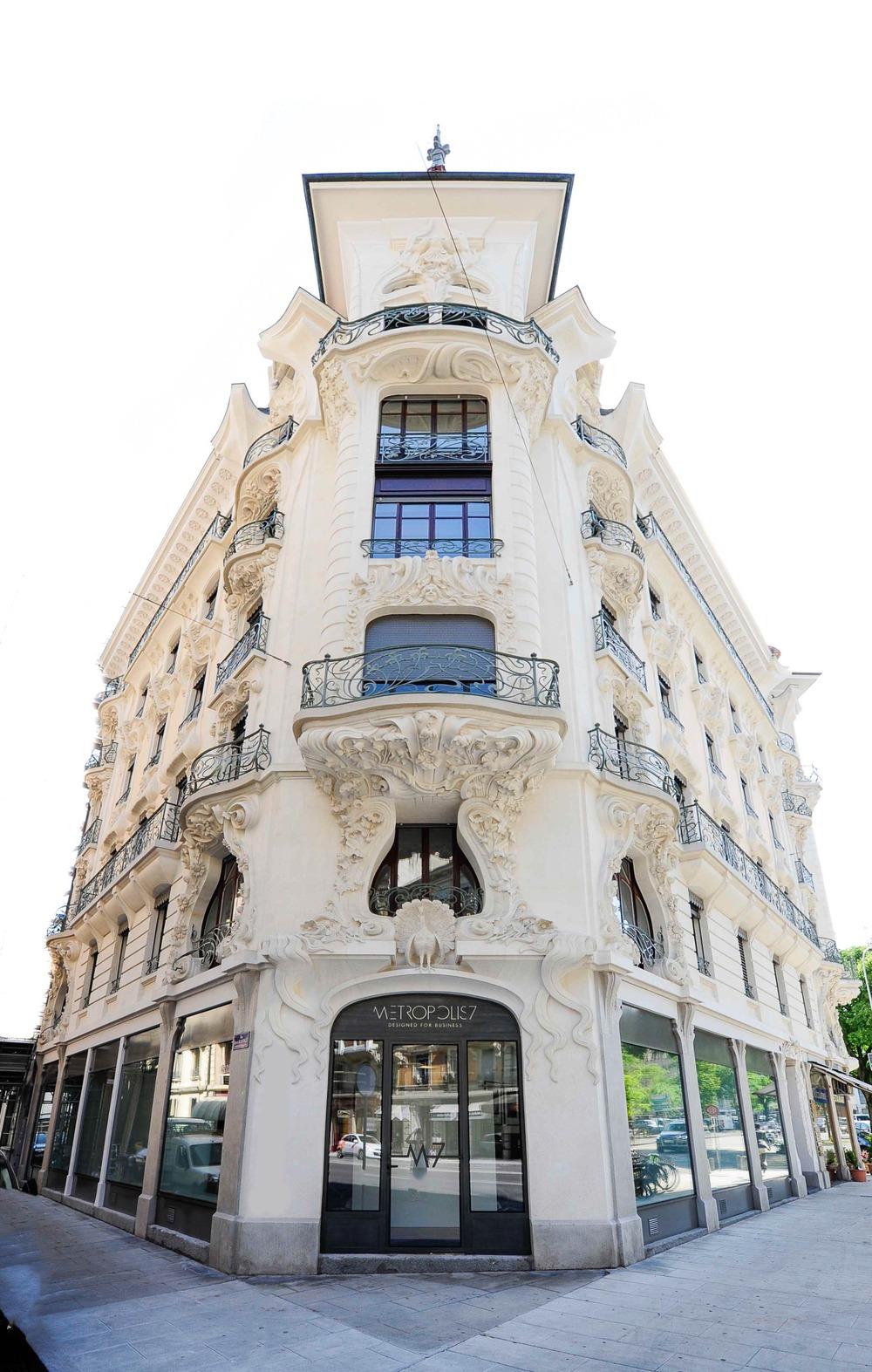 Geneva City Centre - Avenue Pictet-de-Rochemont 7 - Maison des Paons - Geneva