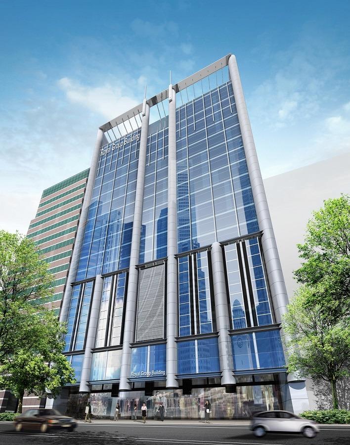Royal Group Building - 3 Phillip Street - Singapore