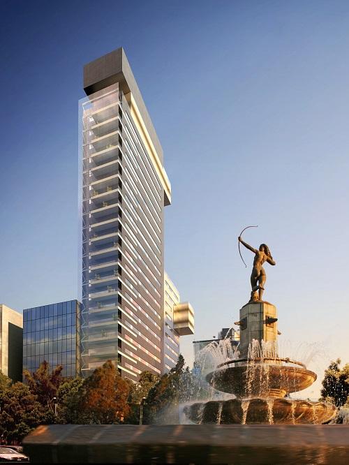 Torre Reforma Diana - Paseoe la Reforma 412 - col. Juárez, Del. Cuauhtémoc - Mexico City