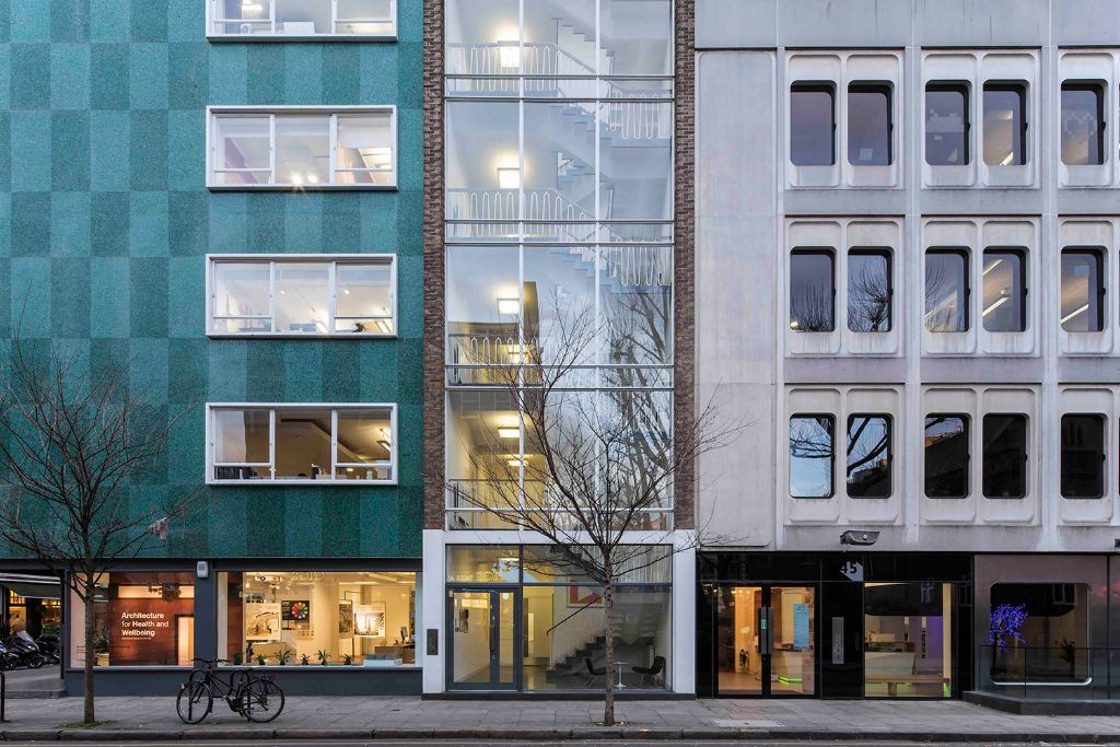 43 Whitfield Street, W1 - Fitzrovia (private, co-working)