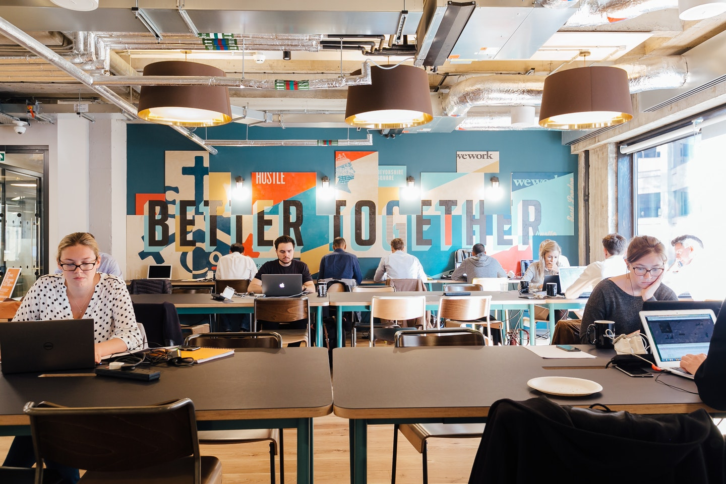 wework - 9 Devonshire Square, EC2 - London (Shared and Private Offices)