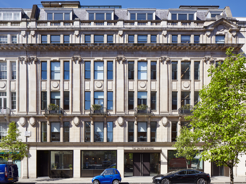 The Office (TOG) - The Smiths Building - 179 Great Portland St, W1 - Marylebone