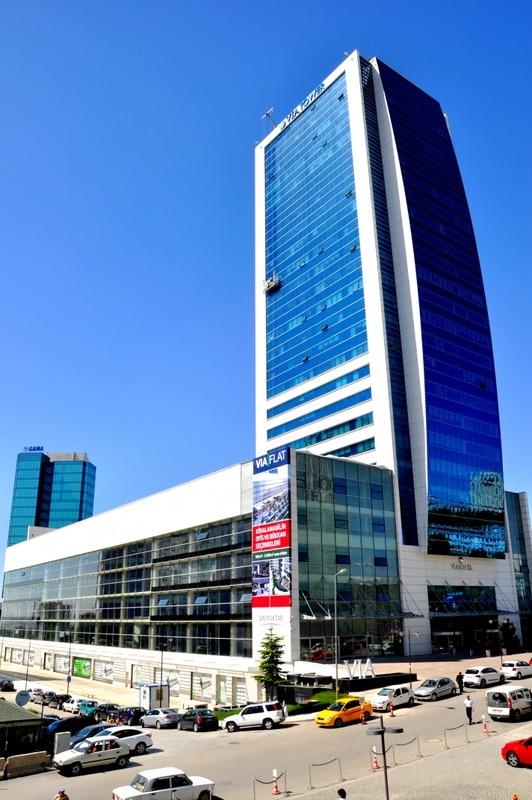 Via Flat İş merkezi - Nergis sokak - Söğütözü-Çukuramabar - Ankara
