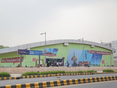 R Cube - Shivaji - Shivaji Stadium Metro Station - Airport Express Line - New Delhi