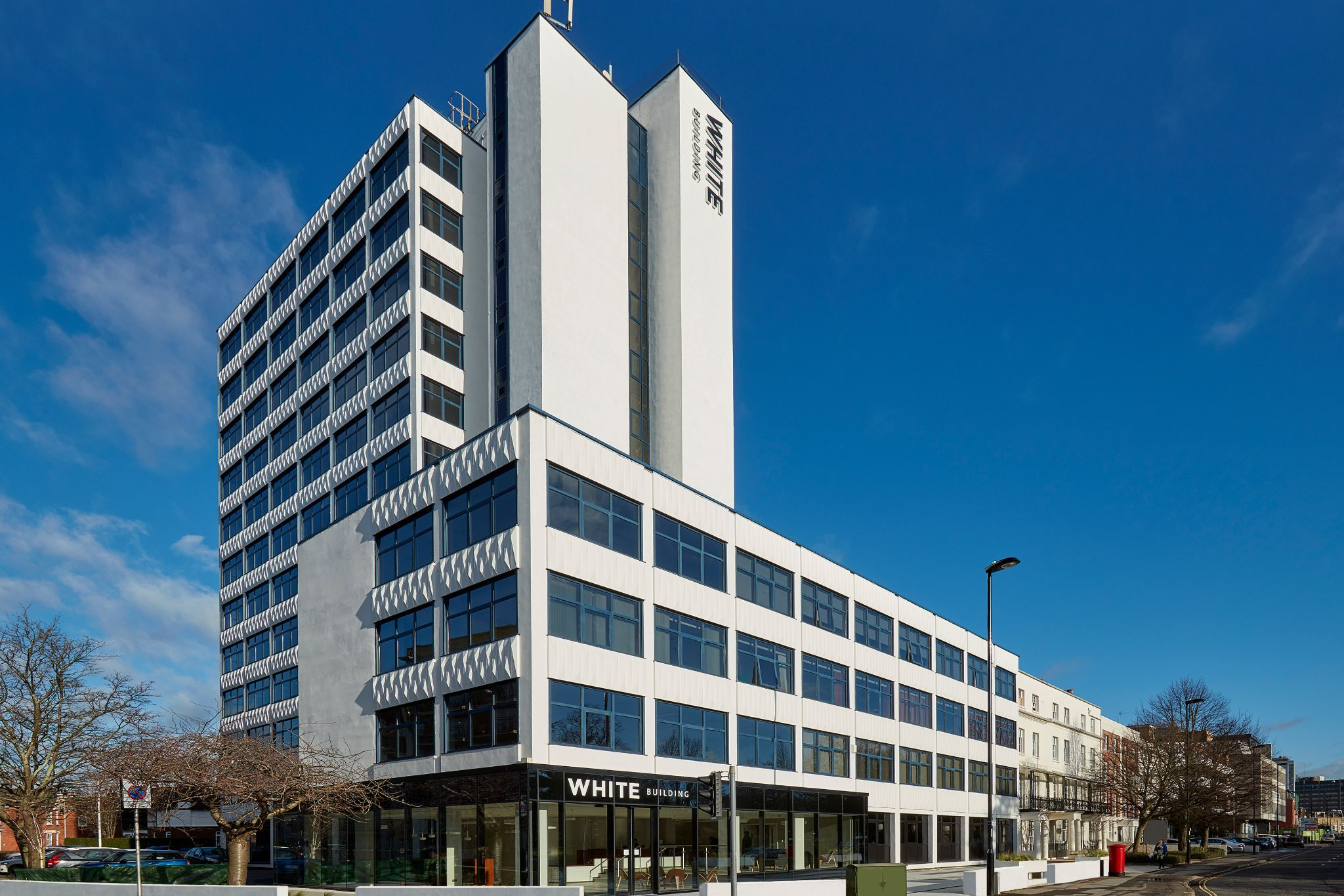 White Building -1-4 Cumberland Place, SO15 - Southampton