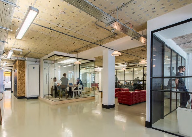 Workhouse One Limited - The Sandwich - 10 Clothier Street , EC3 - Aldgate (co-working, private, hot-desk)(Fully Let Apr 2018)