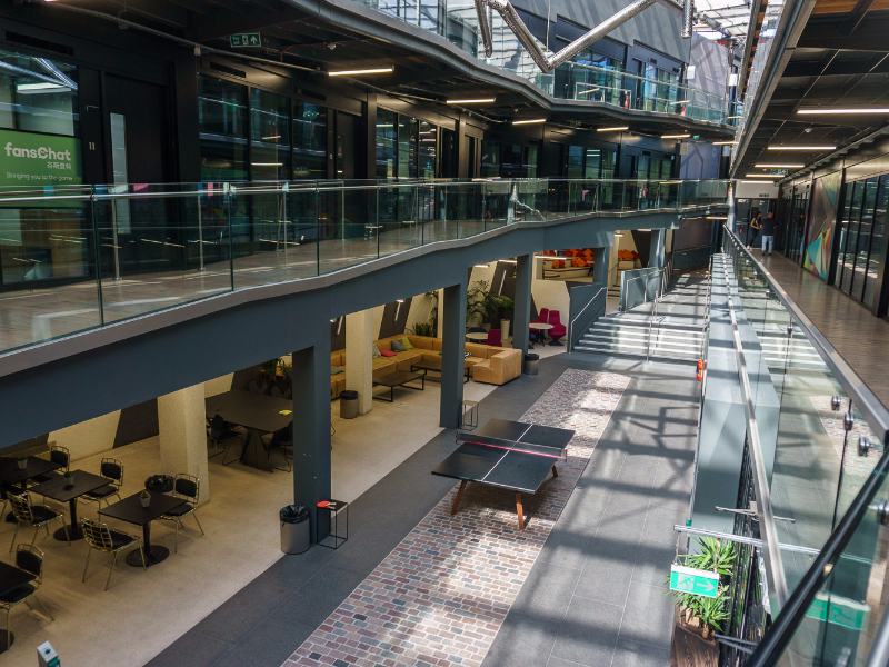 ATRIUM - North Stables Market, NW1 - Camden (shared/private offices)