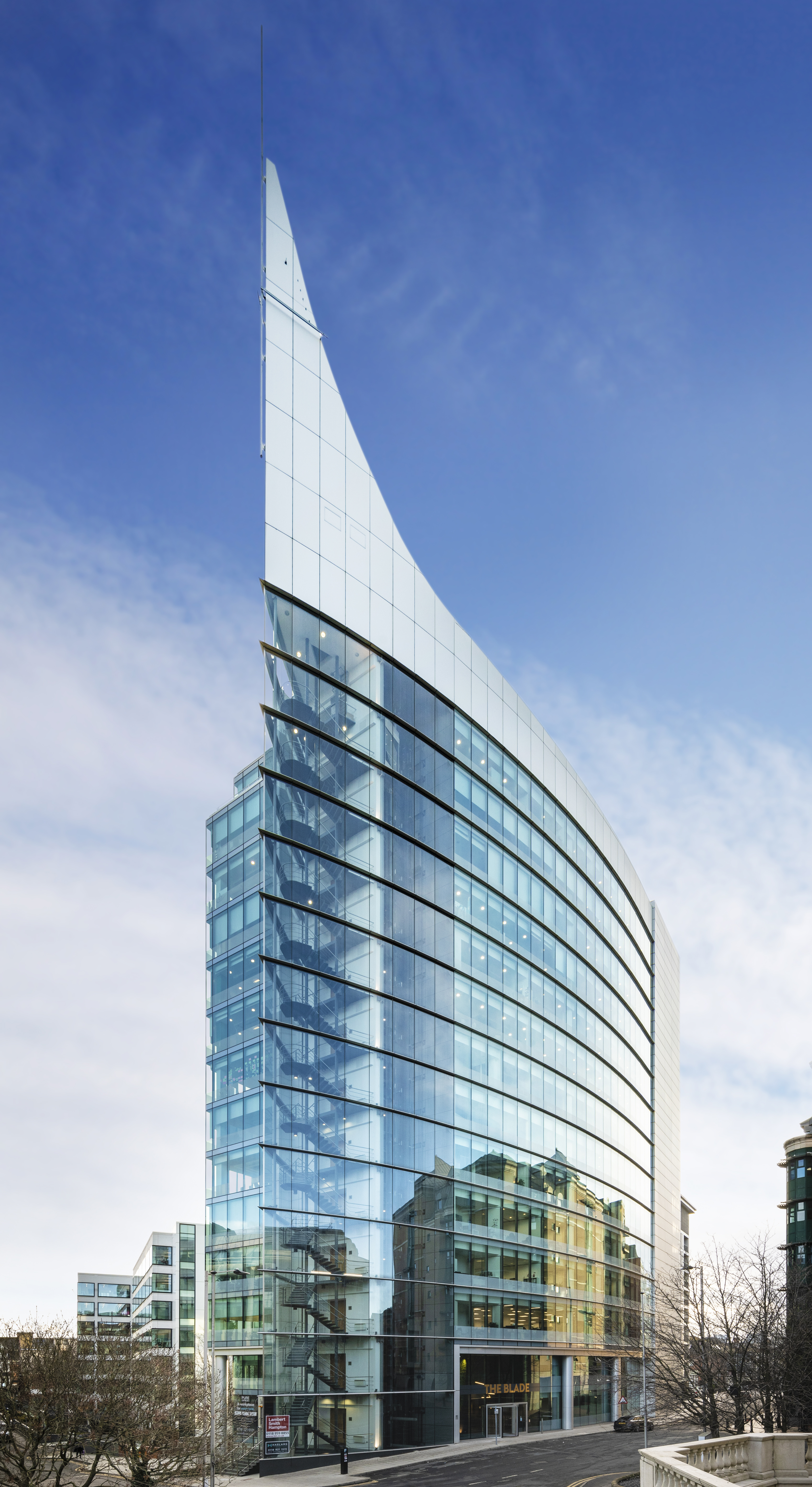 Pure offices - The Blade - Abbey Street, RG1 - Reading