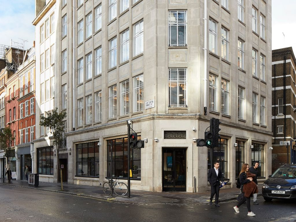 FORA Space - West End - 16-19 Eastcastle Street, W1 - Fitzrovia (private, co-working)