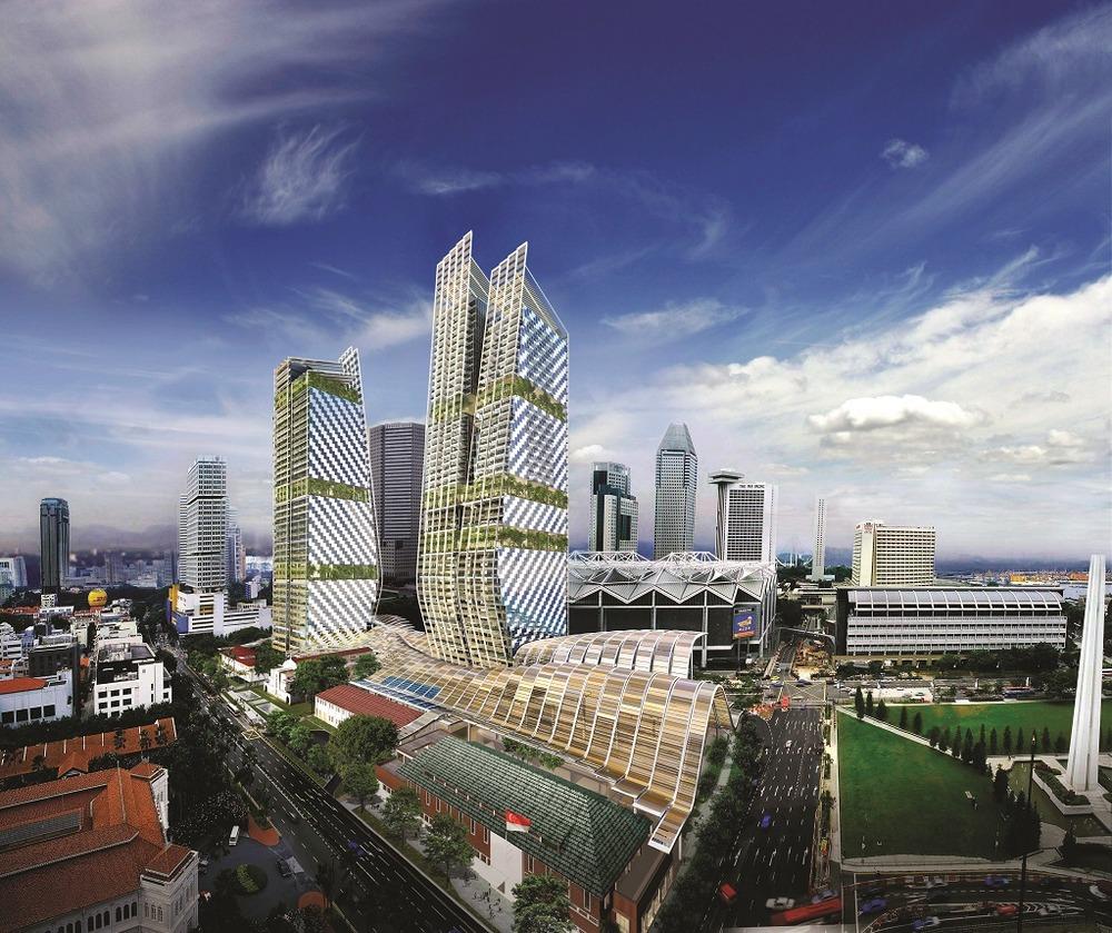 South Beach Tower - 38 Beach Road - Singapore