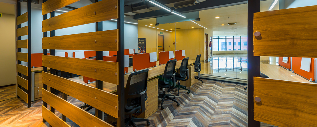 Pro-working @ Baner - Teerth Technospace - AG Road- Baner - Pune (private, co-working)