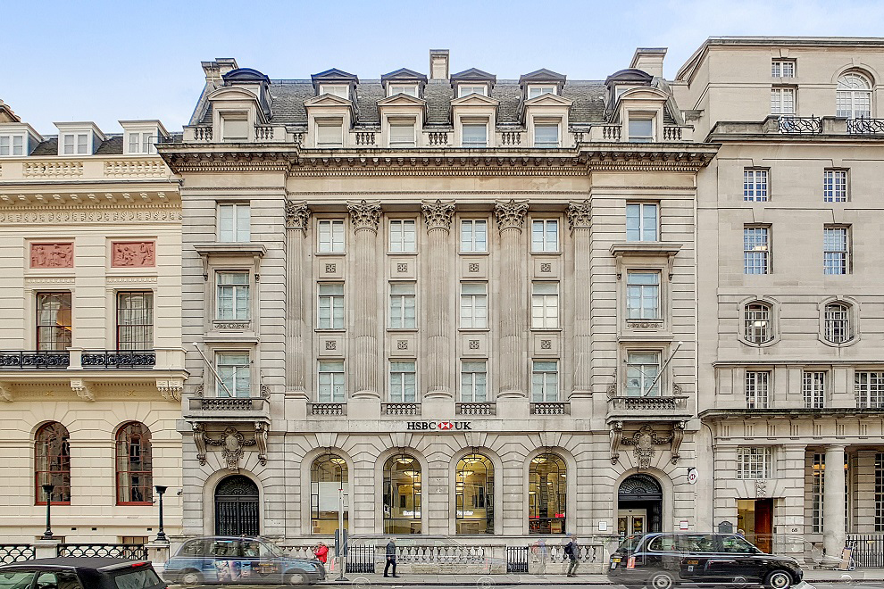 Bourne Office Space - 70 Pall Mall, SW1 - St James's