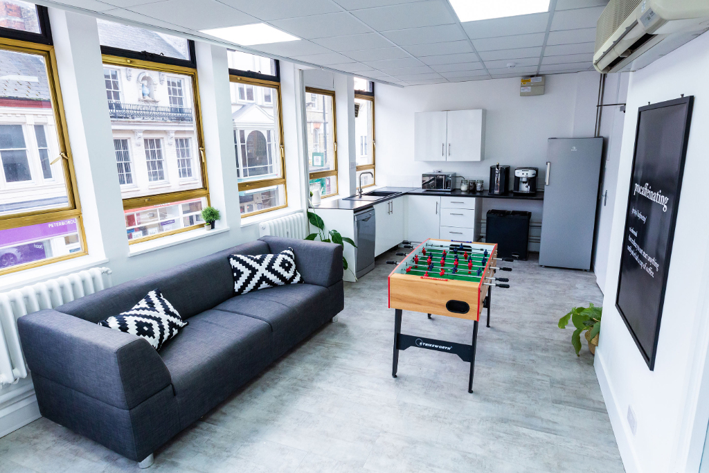 Co-Foundry - Britannic House - 11-13 Cowgate, PE1 - Peterborough (Coworking only)