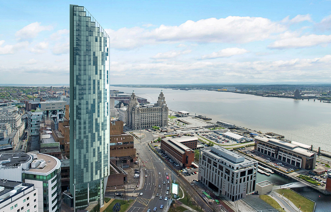 West Tower - 8 Brook Street, L3 - Liverpool (30+ desk leads only)l