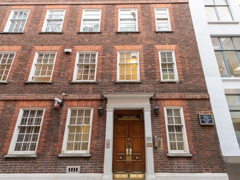 3 Bolt Court, EC4 - Fleet Street