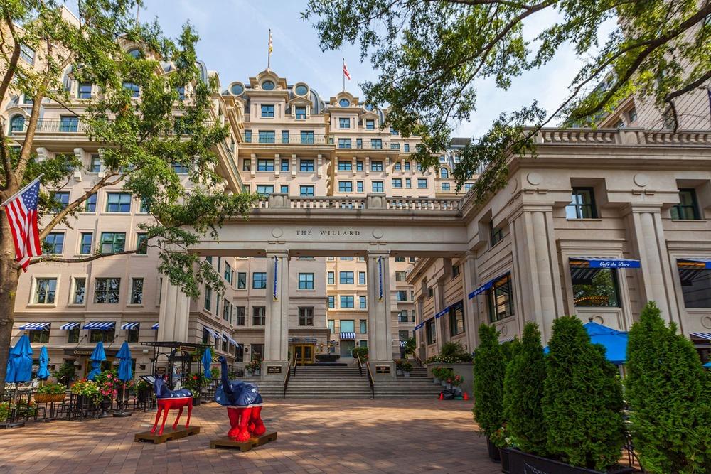 Carr Workplaces - The Willard Offices - Pennsylvania Avenue - Washington, DC