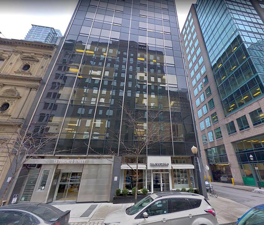 15 Toronto Street - Toronto- ON (Opens Feb 2020)