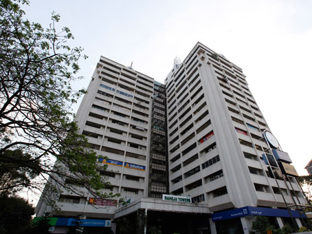 Raheja Towers - Mahatma Gandhi Rd - Bangalore