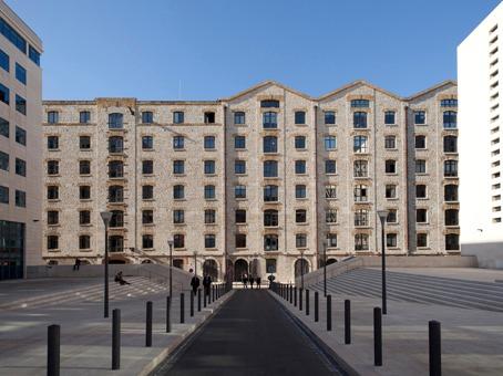 Marseille, Les Docks - Place de la Joliette, Marseille