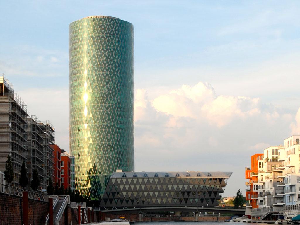 Frankfurt Westhafen Tower - Westhafenplatz 1 - Frankfurt